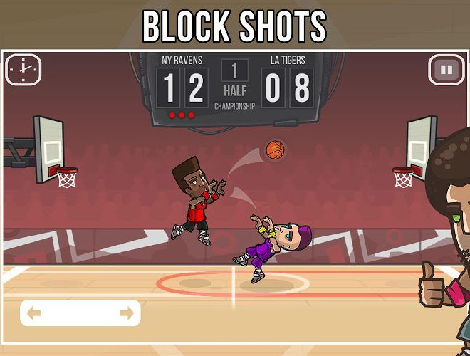 Play Basketball Battle on PC 4