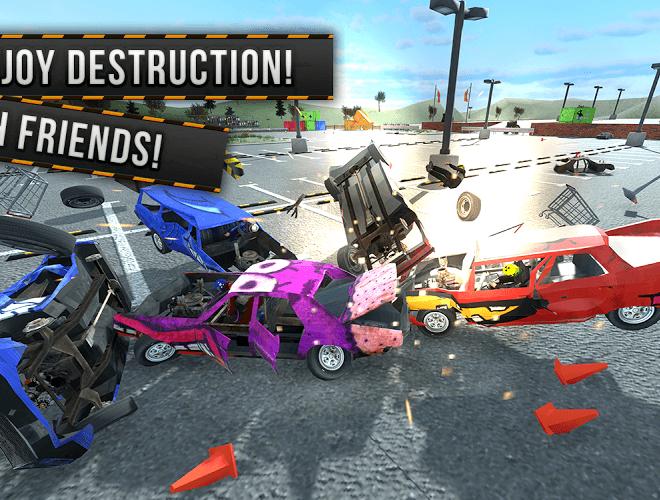 Play Demolition Derby Multiplayer on PC 2
