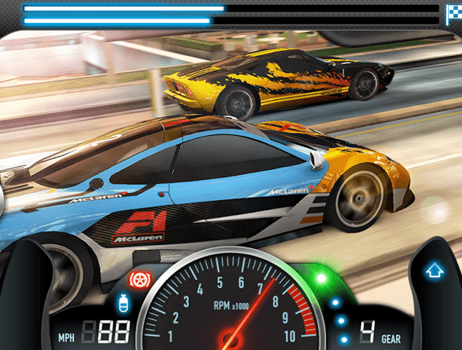 Spielen CSR Racing on pc 10