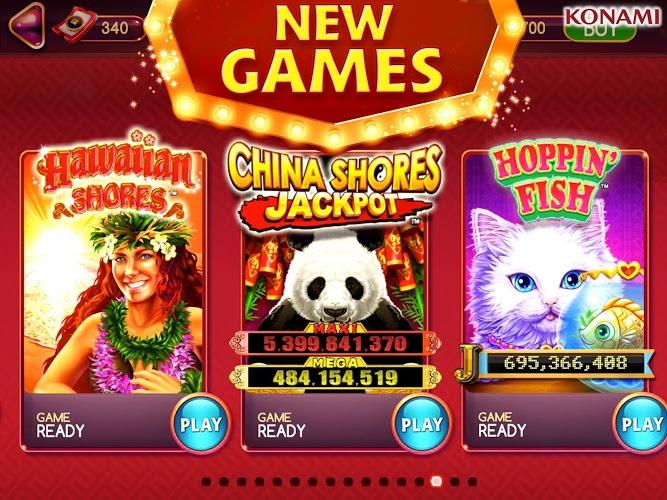 Play my KONAMI Slots on PC 16