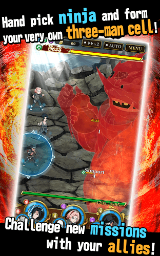 Jouez à  Ultimate Ninja Blazing sur PC 12