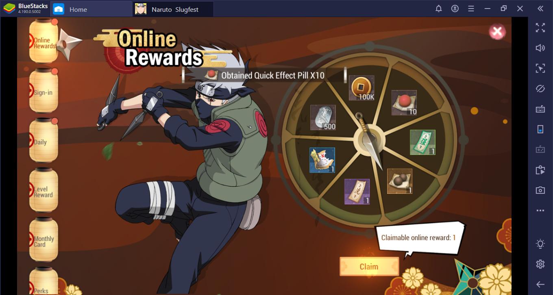 Cara Main Naruto Slugfest di PC untuk Pemain Pemula