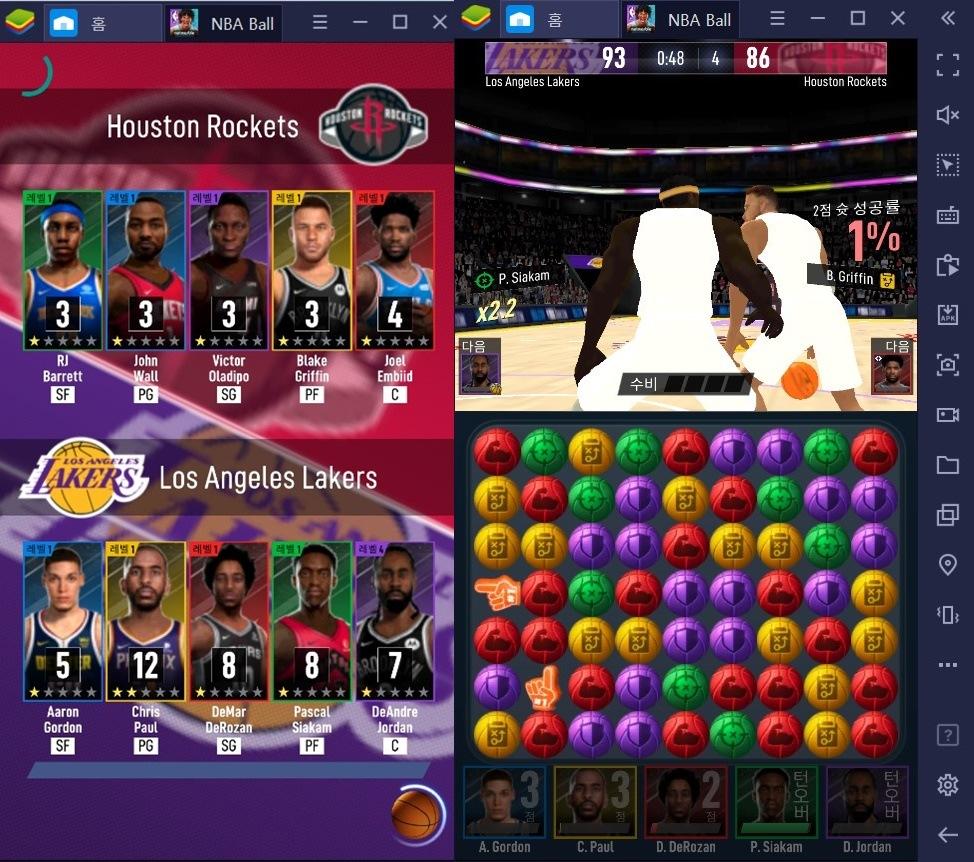 퍼즐과 농구의 만남 NBA 볼 스타즈 정식 출시, NBA의 스타들을 PC로 만나보세요!