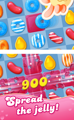 เล่น Candy Crush Jelly Saga on PC 15