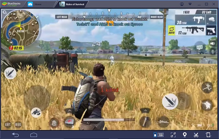 how to play rules of survival on laptop