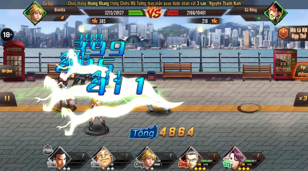 Game mobile Người Trong Giang Hồ mở Alpha Test