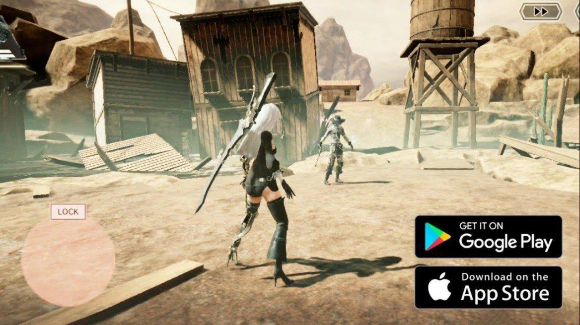 Nier Reincarnation tung trailer mới, mở đăng ký trước trên Android và iOS