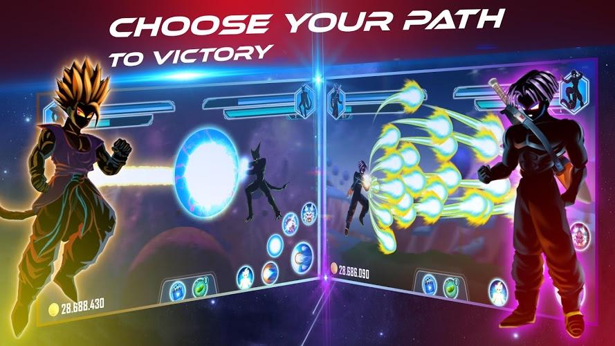 Play Dragon Shadow Battle Warriors: Super Hero Legend on PC 3