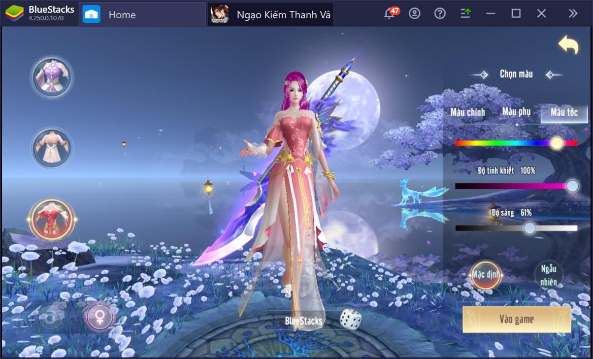 Trải nghiệm thế giới thần tiên Ngạo Kiếm Thanh Vân trên PC cùng BlueStacks