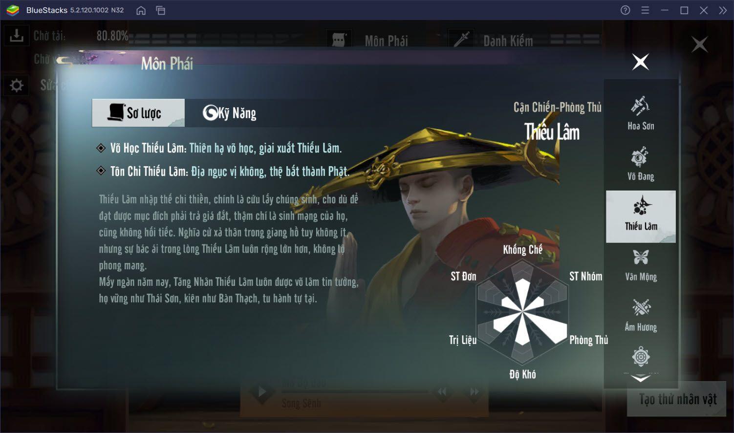 Thất đại môn phái Nhất Mộng Giang Hồ, bạn là ai?