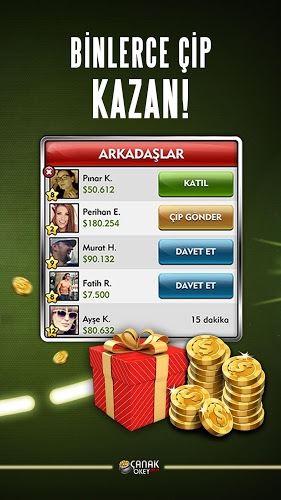 Play Canak Okey Plus on PC 5
