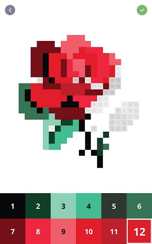 Играй в Pixel Art - Раскраска по номерам на PC с помощью ...