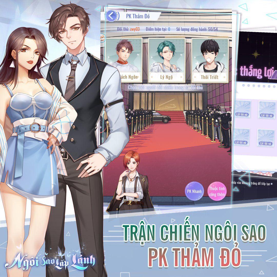 """Ngôi Sao Lấp Lánh Mobile: Game mobile """"thần tượng"""" dành cho game thủ nữ"""