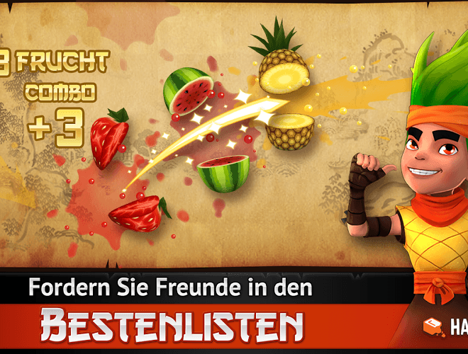 Spielen Fruit Ninja Free on PC 12