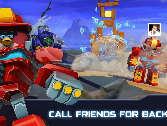 Play Angry Birds Transformers on PC 6