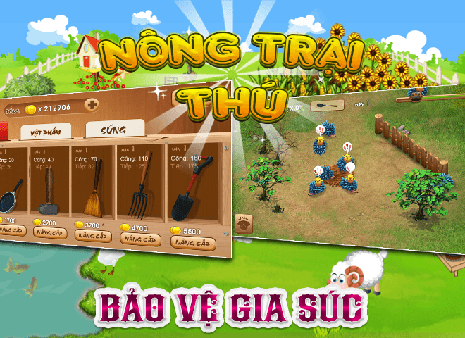 Chơi Nong Trai Thu – Dau Truong Thu on PC 15