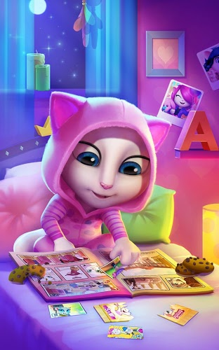 Gioca Talking Angela on PC 11