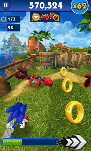 Играй Sonic Dash on pc 4