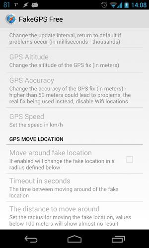 เล่น Fake GPS Location Spoofer Free on PC 14