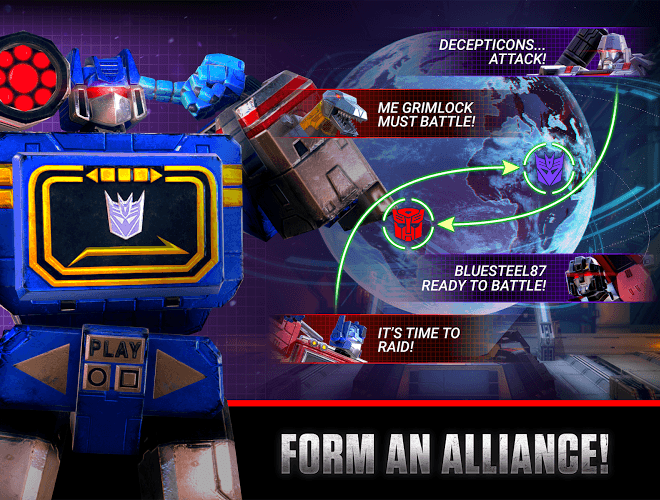 Play Transformers: Earth Wars on PC 6
