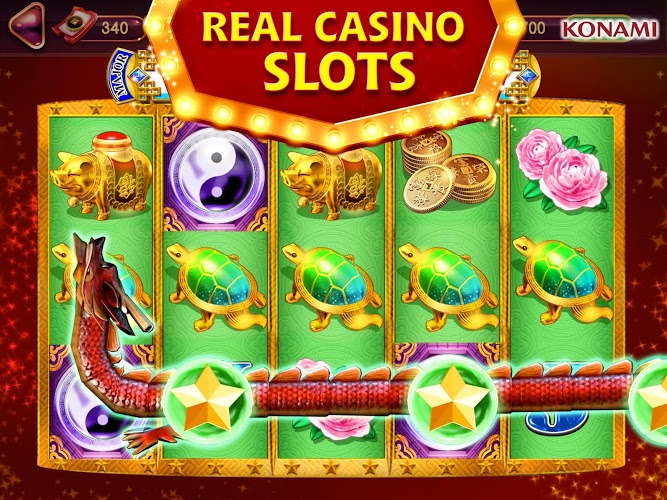 Play my KONAMI Slots on PC 12