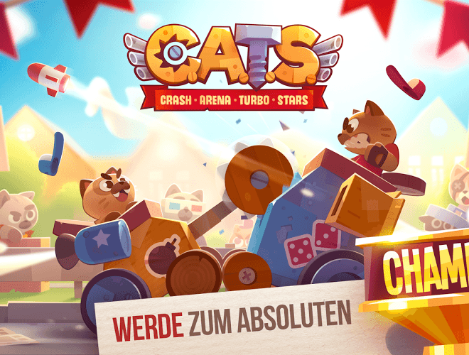 Spiele CATS: Crash Arena Turbo Stars auf PC 19