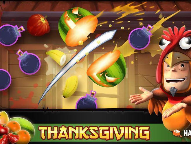 Играй Fruit Ninja Free on pc 3