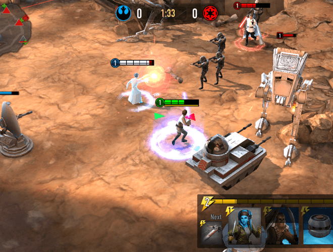 Играй Звездные Войны: Арена Силы На ПК 8
