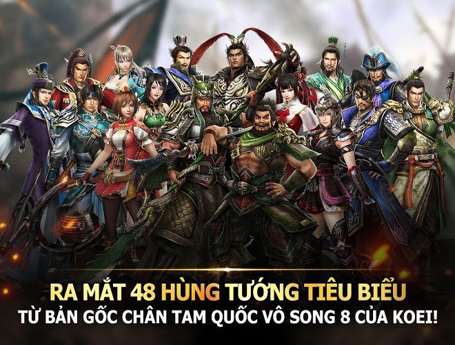 Chơi Dynasty Warriors Unleashed on PC 6
