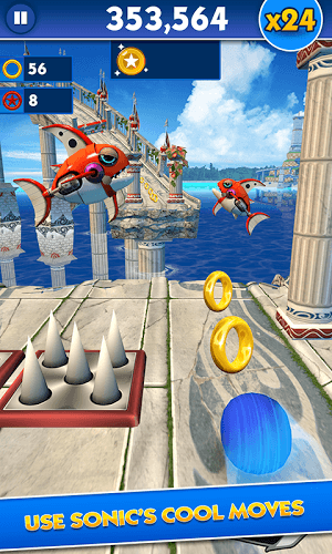 إلعب Sonic Dash on pc 5