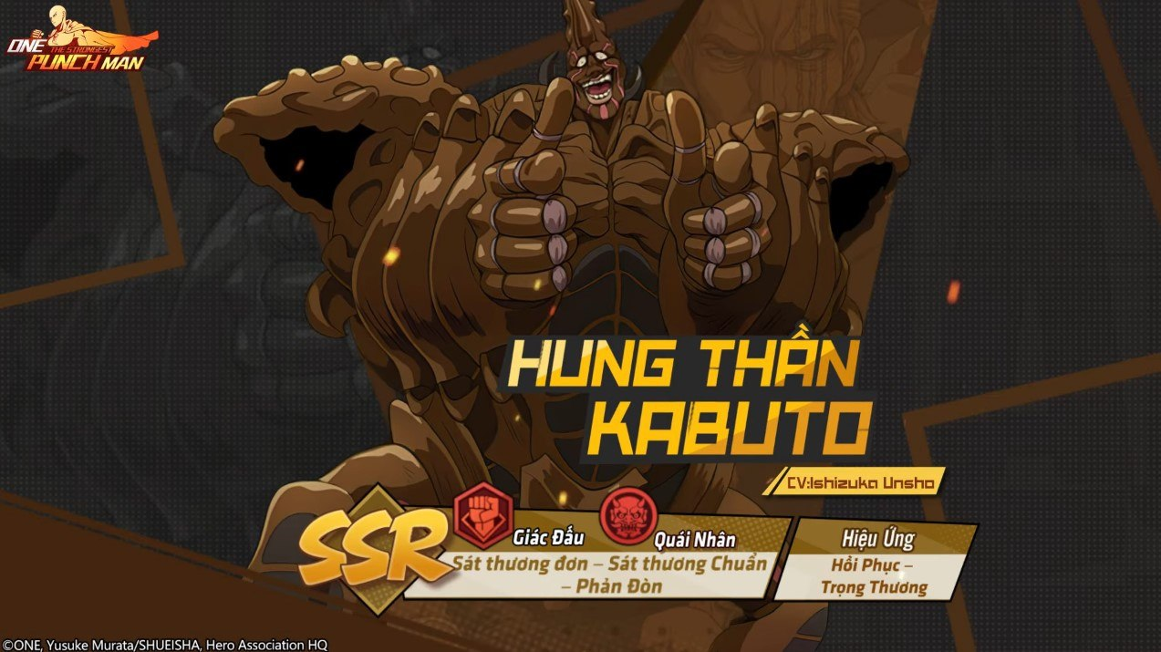 """One Punch Man: The Strongest – Đội hình quái nhân """"siêu mạnh"""" tiêu biểu"""