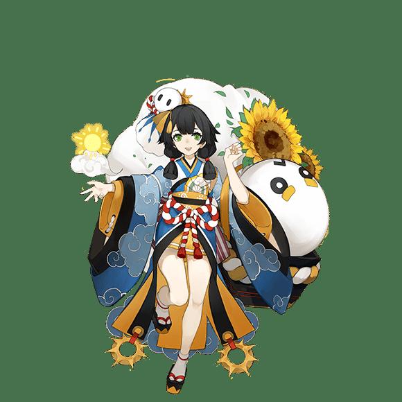 Healer Shikigami SR di Onmyoji Global