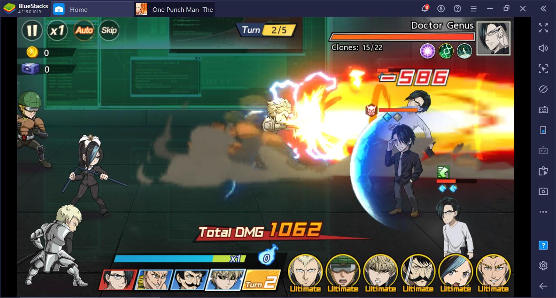 Tips Pertarungan Terbaik untuk Pemula di ONE PUNCH MAN: The Strongest