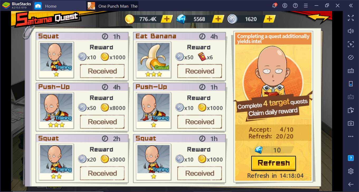 Cara Main ONE PUNCH MAN: The Strongest di PC