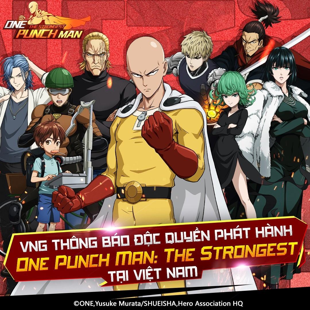 One Punch Man: The Strongest sắp được phát hành tại Việt Nam