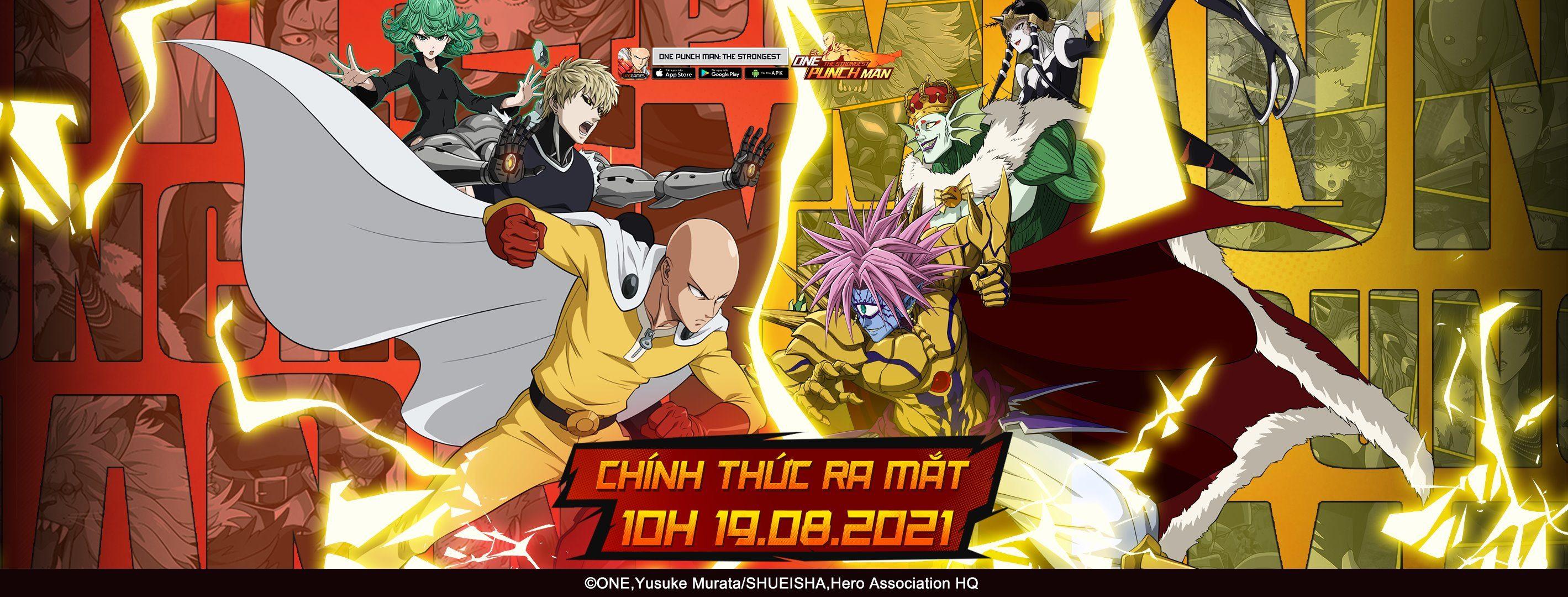 One Punch Man: The Strongest chính thức ra mắt