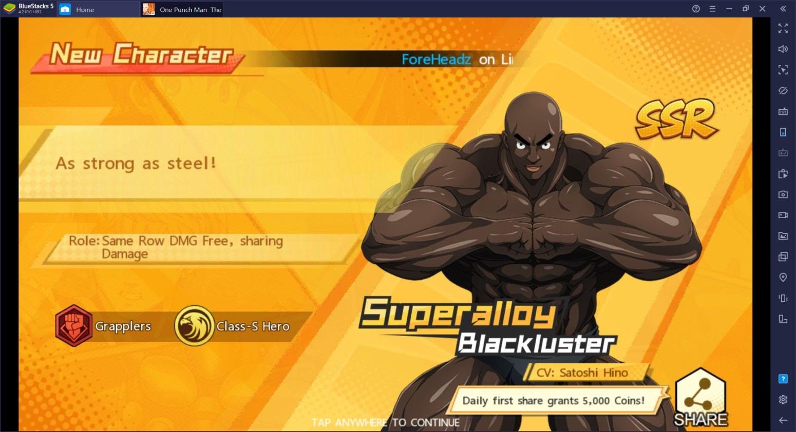 In-depth Guide to Keymapping One Punch Man: The Strongest on BlueStacks