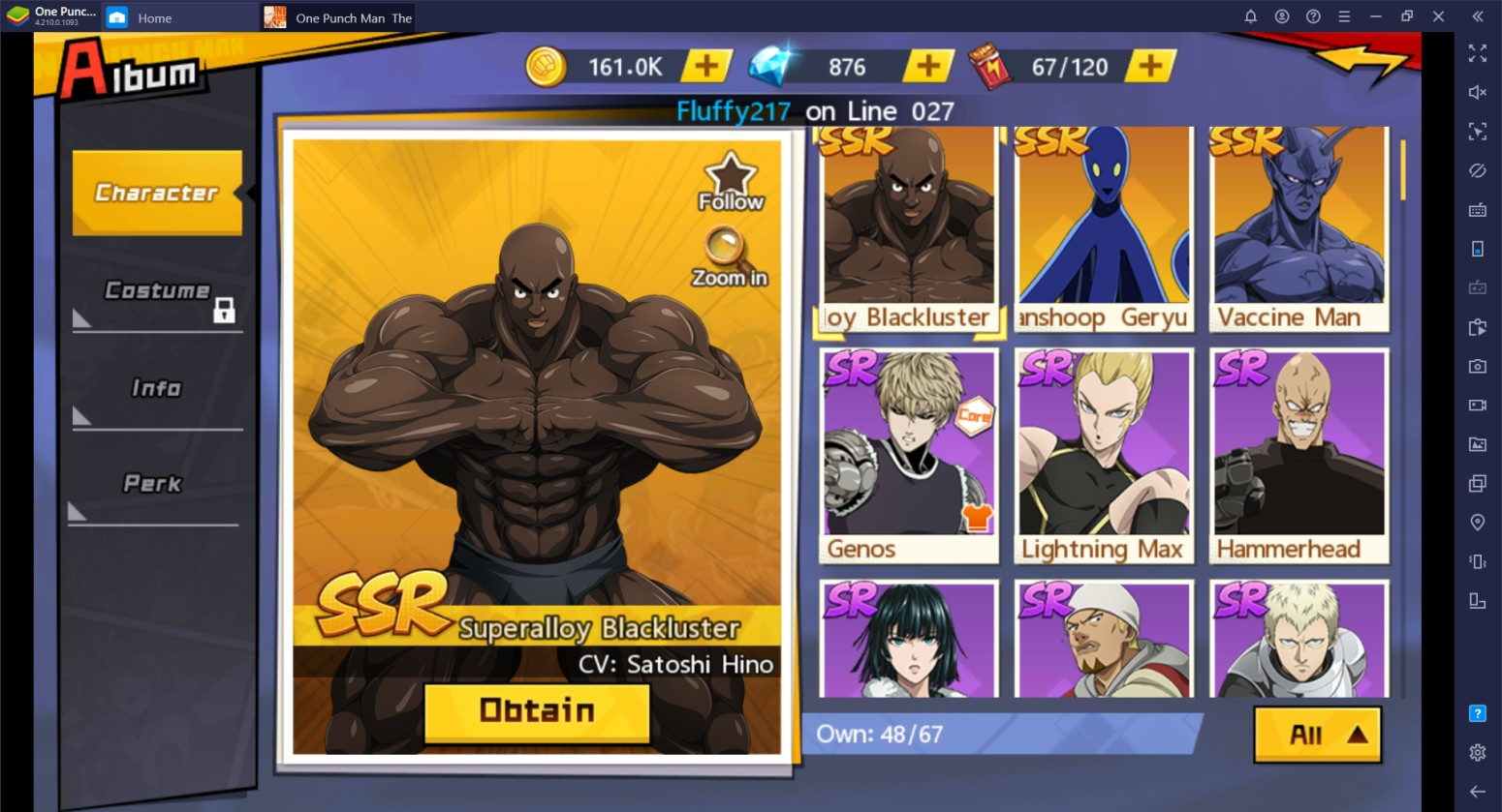 One Punch Man: The Strongest: Daftar Tier Unit – Unit Terbaik di Game