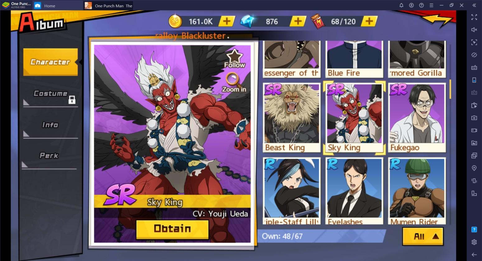 One Punch Man: The Strongest: Daftar Tier Unit – Unit Terbaik di Game