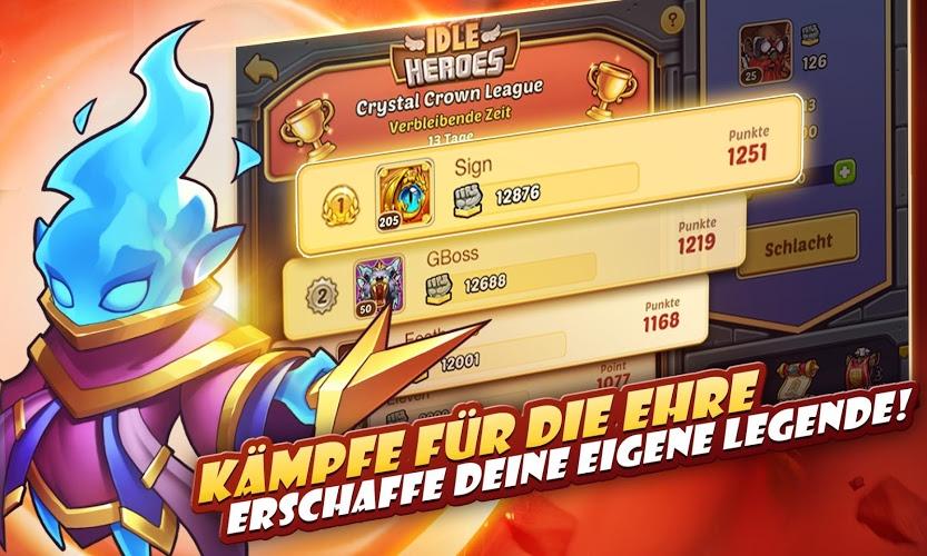 Spiele Idle Heroes auf PC 21
