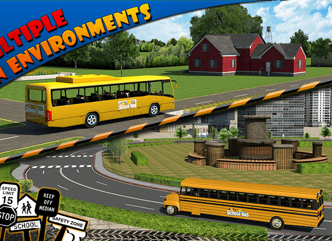 Play School bus Driver 3D on PC 6