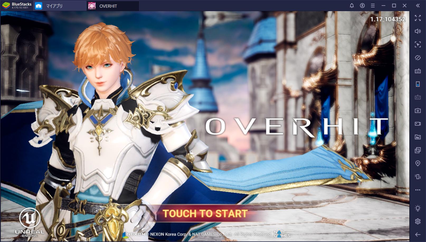 BlueStacksを使ってPCで『OVERHIT』を遊ぼう