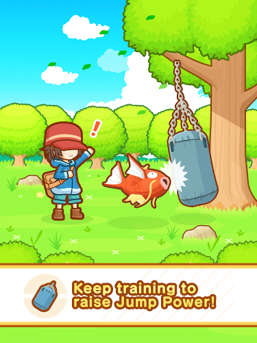 Play Pokémon: Magikarp Jump on PC 13