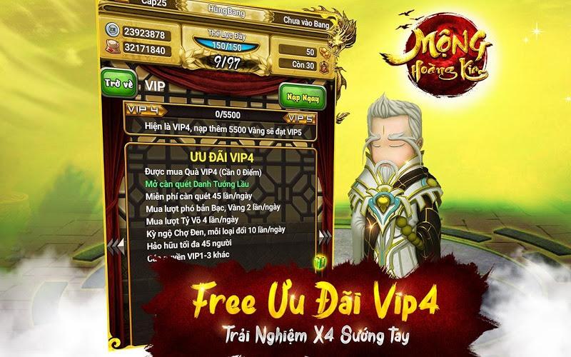 Chơi Mộng Hoàng Kim on PC 14