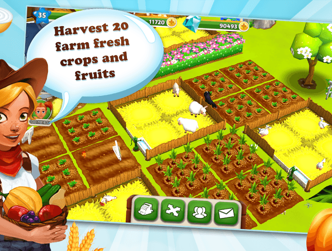เล่น My Free Farm 2 on PC 2