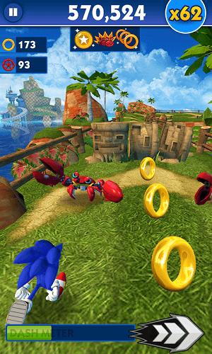 Spiele Sonic Dash auf PC 4