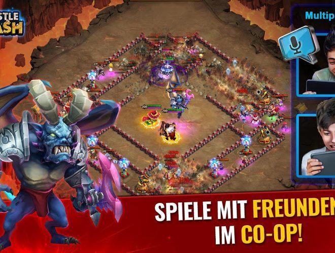 Spiele Castle Clash für PC 12