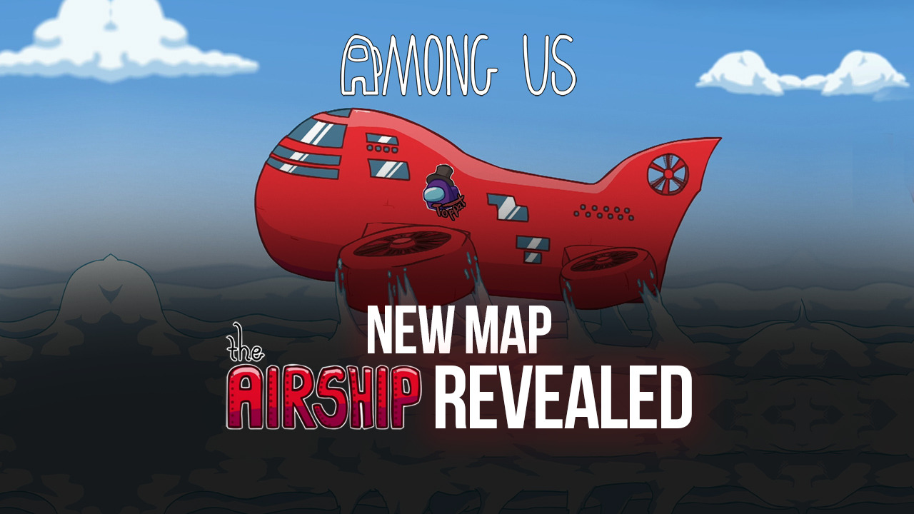 Разработчики Among Us представили новую карту под названием The Airship