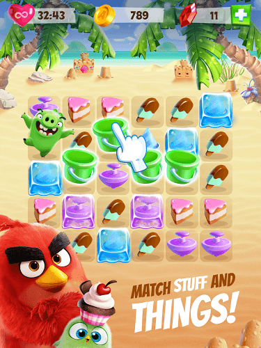 Play Angry Birds Match on PC 9