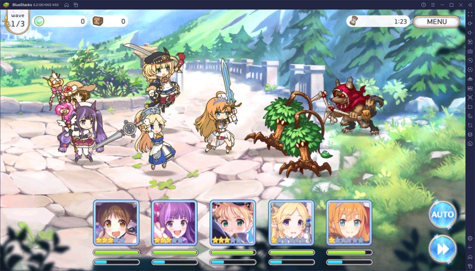 프린세스 커넥트! Re:Dive의 롱런에는 이유가 있다, 블루스택에서 애니메이션 RPG의 매력을 제대로 느껴보세요!